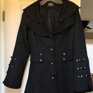 Beautiful Victorian black coat